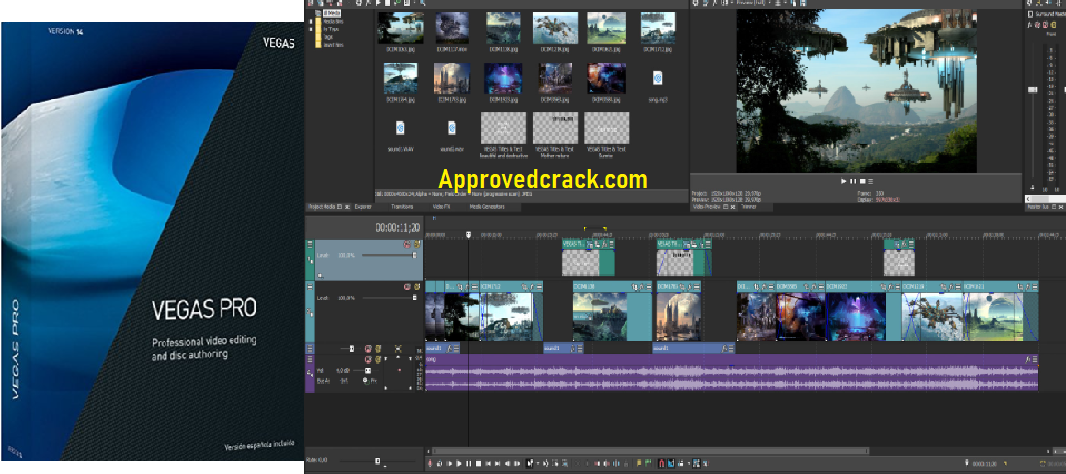 Sony VEGAS Free Download