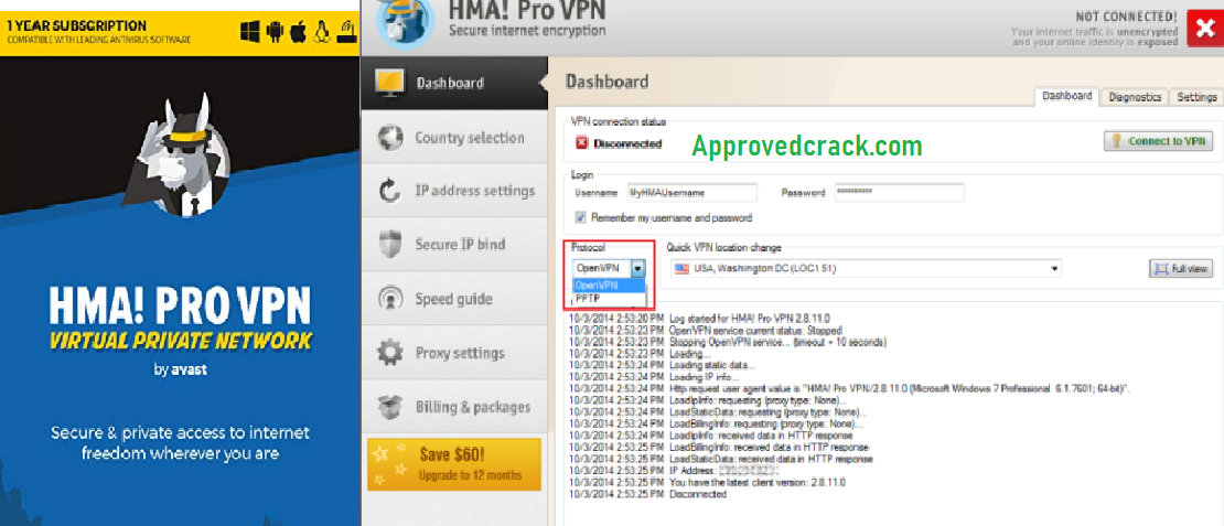 HMA Pro VPN Free Download